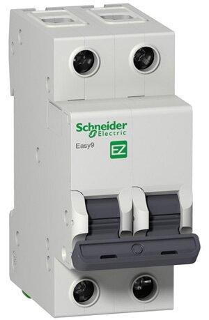 Автоматический выключатель Schneider Electric Easy 9 2P (B) 4,5kA — купить по выгодной цене на Яндекс.Маркете