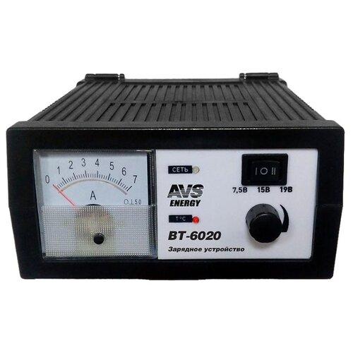 Зарядное устройство AVS Energy BT-6020 черный