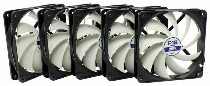Система охлаждения для корпуса Arctic Arctic F12 PWM PST Value Pack