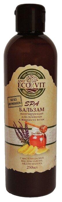 ECO&Vit бальзам Тонизирующий с маслом шалфея, маслом имбиря, медом манука