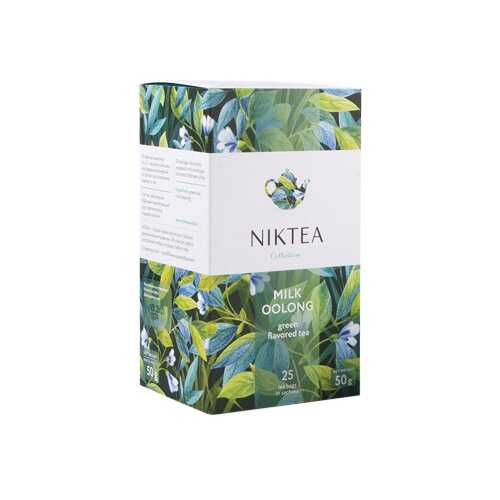 Чай улун Niktea Milk oolong в пакетиках, 25 шт.Чай<br>
