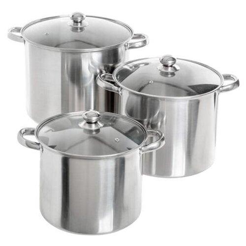 Набор кастрюль MAYER & BOCH 26106 6 пр. металликНаборы посуды для готовки<br>