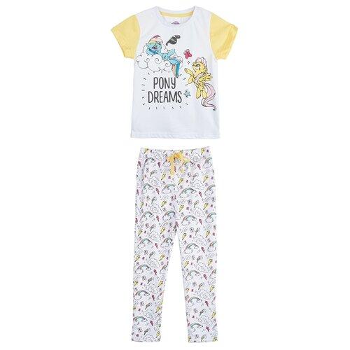 Пижама kari My little pony размер 4-5, белыйДомашняя одежда<br>