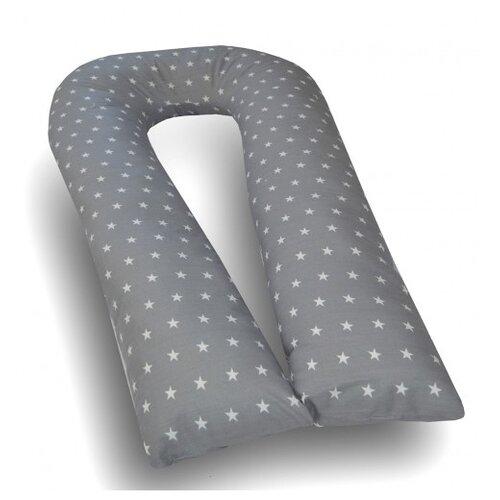 цена на Подушка Мастерская снов для беременных U-350 материал наволочки бязь звезды на сером