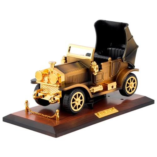Русские подарки Музыкальная шкатулка Ретро машина 24810 золотистый