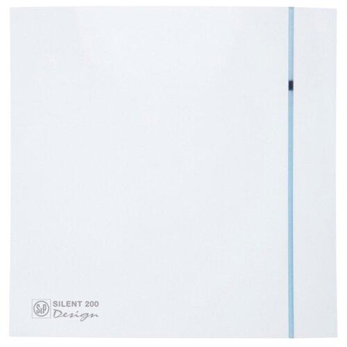 Вытяжной вентилятор Soler & Palau SILENT-200 CRZ DESIGN 3C, white 16 Вт цена 2017