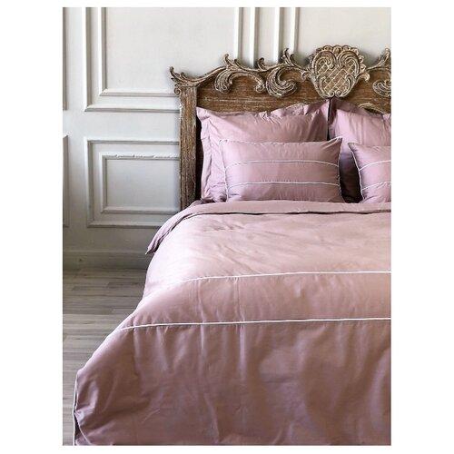 Постельное белье 1.5-спальное Bohemique studio Рошель сатин, 50 х 70 см лиловый