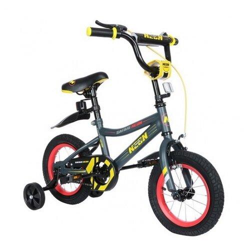 Детский велосипед Grand Toys GT9505 Safari Proff Neon желтый (требует финальной сборки)