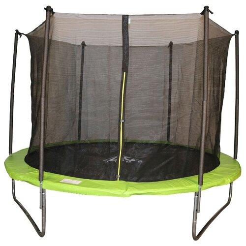 Каркасный батут DFC Jump 6ft складной с сеткой 183х183х206 см green appleКаркасные батуты<br>
