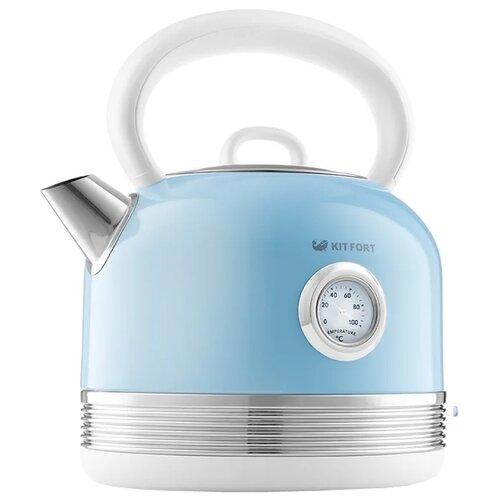 Чайник Kitfort KT-634-4, голубой