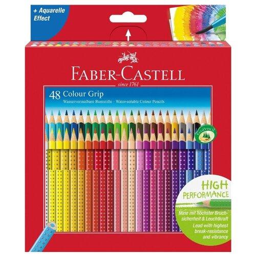 Faber-Castell Цветные карандаши Grip 2001 48 цветов (112449) faber castell ластик grip 2001 цвет синий