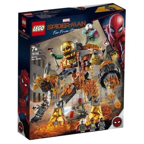 Купить Конструктор LEGO Marvel Super Heroes 76128 Бой с Расплавленным Человеком, Конструкторы
