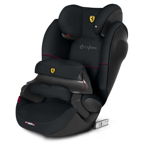 Автокресло группа 2/3 (15-36 кг) Cybex Pallas M-Fix SL (for Scuderia Ferrari), victory black группа 1 2 3 от 9 до 36 кг cybex pallas 2 fix fe ferrari