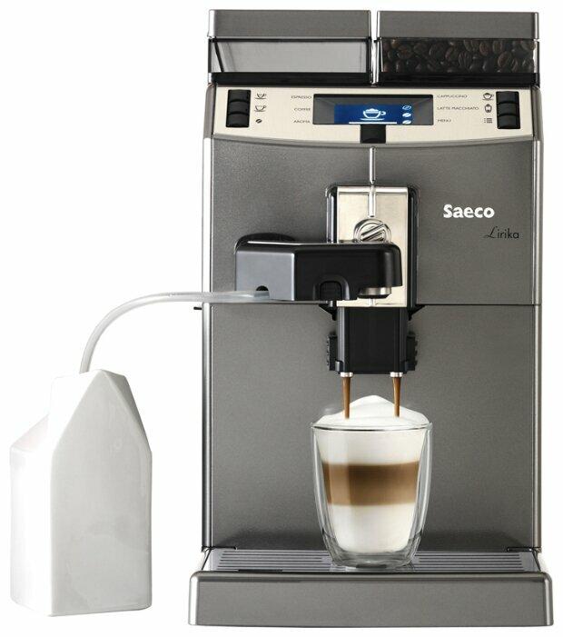 Сколько стоит Кофемашина Saeco Lirika One Touch Cappuccino? Сравнить цены на Яндекс.Маркете