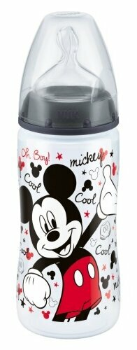 NUK First Choice Plus Дисней Микки Маус бутылочка 300 мл с 6 мес.