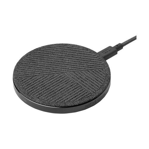 Беспроводная сетевая зарядка Native Union Drop Wireless Charger 10 Вт slate