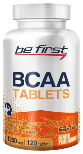BCAA Be First BCAA Tablets (120 шт.)