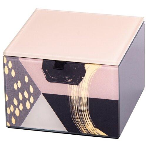 Русские подарки Шкатулка декоративная 79230 серый