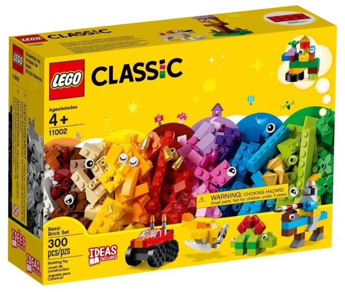 Конструктор LEGO Classic 11002 Базовый набор кубиков