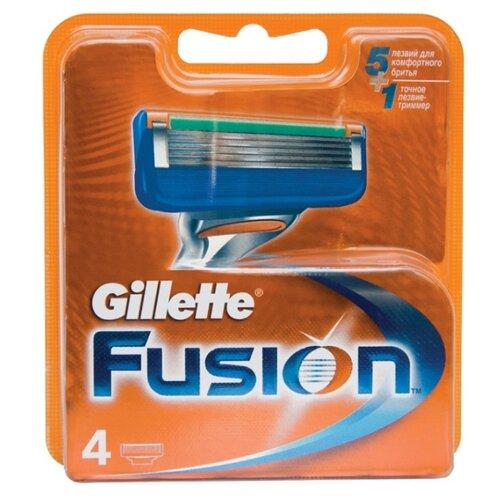 Сменные кассеты Gillette Fusion5 , 4 шт.Бритвы и лезвия<br>