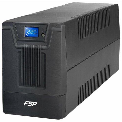 Интерактивный ИБП FSP Group DPV 650 IEC черный ибп fsp dpv 1000 1000va