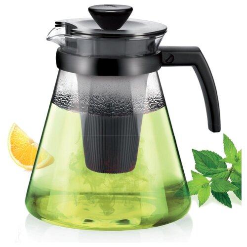 Фото - Tescoma Заварочный чайник Teo 1,25 л, черный френч пресс tescoma teo 646632 0 6 л черный