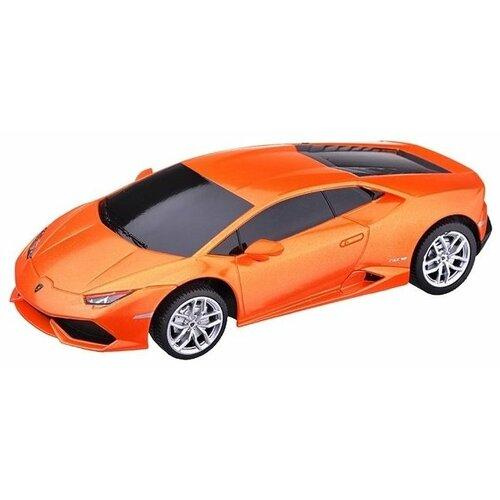 Купить Легковой автомобиль Rastar Lamborghini Huracan LP 610-4 (71500) 1:24 18 см оранжевый, Радиоуправляемые игрушки