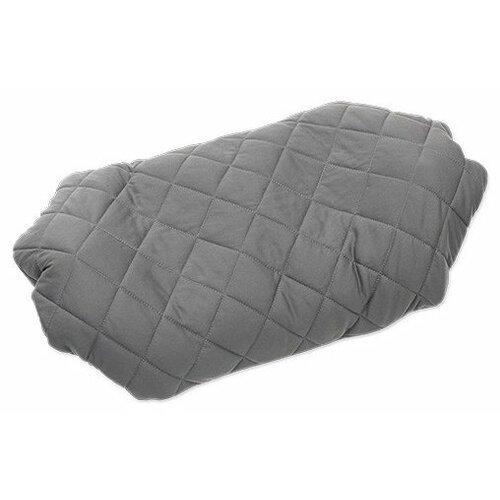 Надувная подушка Klymit Luxe Pillow grey