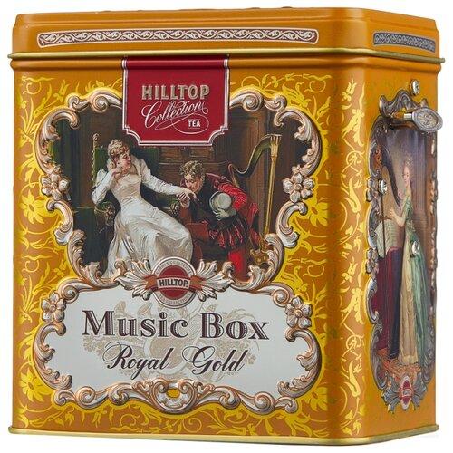 Чай черный Hilltop Королевское золото подарочный набор, 125 г