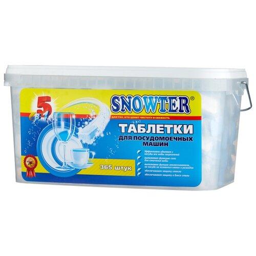 Snowter 5 в 1 таблетки для посудомоечной машины 7.8 кг, 365 шт.
