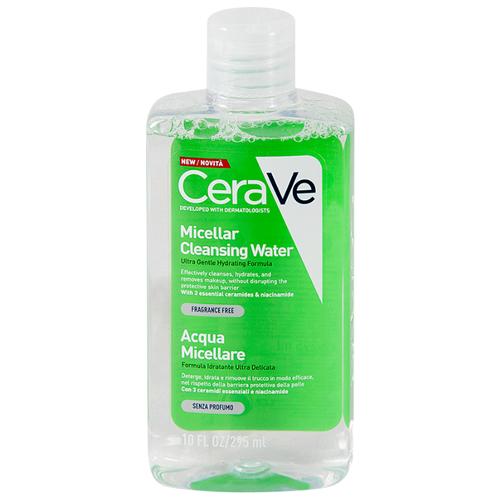 CeraVe увлажняющая очищающая мицеллярная вода, 295 мл очищающая вода урьяж