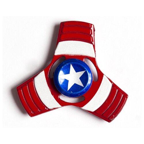 Спиннер Капитан Америка красный