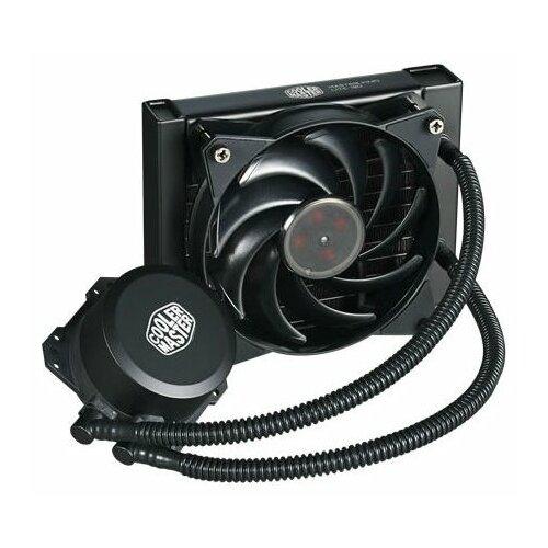 Система водяного охлаждения для процессора Cooler Master MasterLiquid Lite 120 система охлаждения cooler master masterliquid ml240r rgb