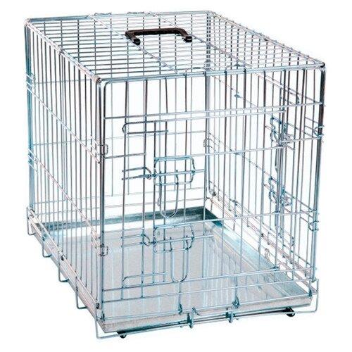 Клетка для собак Karlie Flamingo Wire cage 1030062 63х43х49 см серый