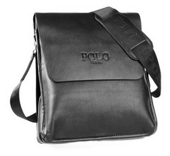Кожаная мужская сумка через плечо BRIALDI Gaeta BBR07528LG navy