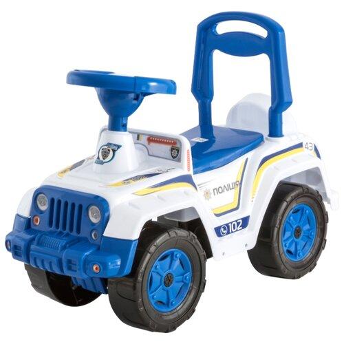 Каталка-толокар Orion Toys 4 х 4 (549) со звуковыми эффектами полиция, Каталки и качалки  - купить со скидкой