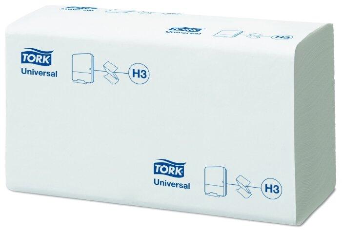 Бумажные полотенца Tork Universal однослойные ZZ сложение 250 шт, 250 лист x 5
