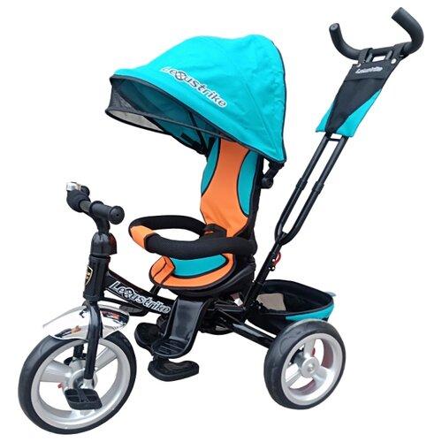 Купить Трехколесный велосипед Shantou City Daxiang Plastic Toys Lexus Trike 402-1210 EVA бирюзовый, Трехколесные велосипеды