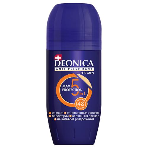 Антиперспирант ролик Deonica for men Max-Protection 5в1, 50 мл