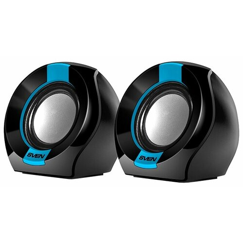 Компьютерная акустика SVEN 150 black/blue