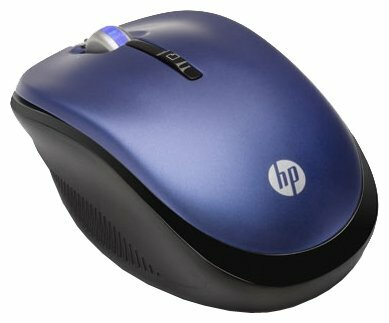 Мышь HP LX731AA Blue-Black USB