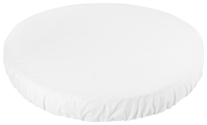 Наматрасник круглый детский Sweet Baby SB-K011, 383047, белый, диаметр 75 см