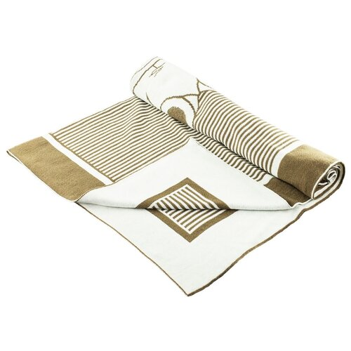 Купить Плед LEO Мишутка 100x90 молочный, Покрывала, подушки, одеяла