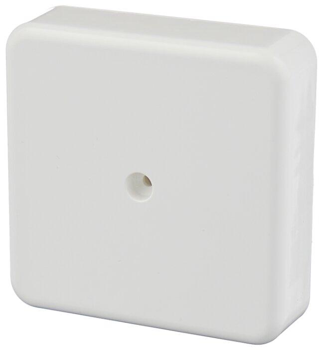 Распределительная коробка IEK КМ41212 наружный монтаж 75x75 мм