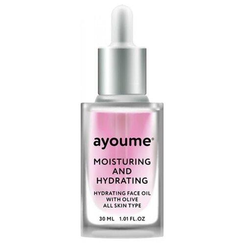 Ayoume Moisturing & Hydrating Face Oil with Olive Масло для лица увлажняющее, 30 мл недорого