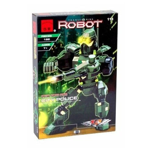 Конструктор Qman Robot 131 Flame Hero