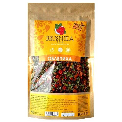 Фото - Чайный напиток травяной Brusnika Облепиха, 100 г фруктовый чайный напиток вишневый пунш 100 г