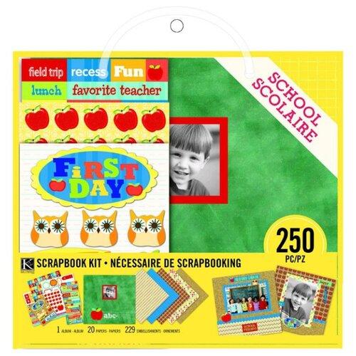 Купить Набор для создания альбома K&Company 20x20 см, 20 листов, Школа , Бумага и наборы
