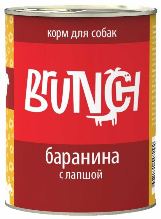 Корм для собак Brunch Баранина с лапшой для собак (0.34 кг) 1 шт.