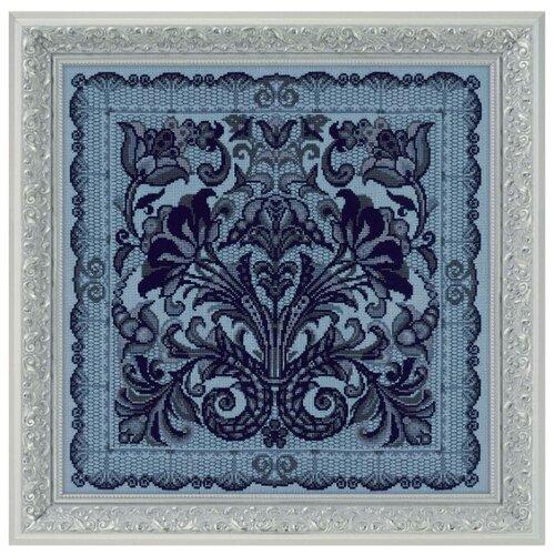 Фото - Риолис Набор для вышивания крестом Панно/подушка Испанское кружево 40 х 40 см (1700) набор для вышивания риолис сотвори сама 1600 подушка панно венское кружево